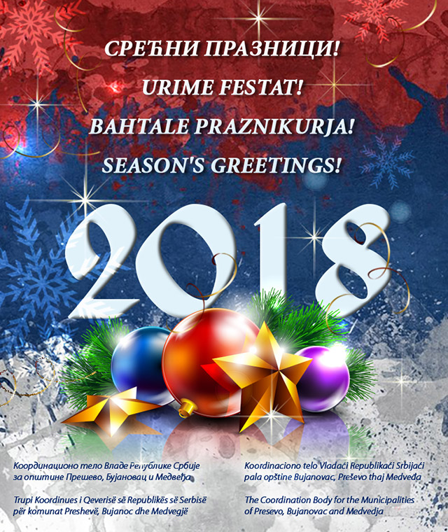 new year greetings extended by zoran stankovic president of the coordination body